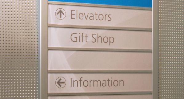 Arris Wall Frame Directory - Office Signage
